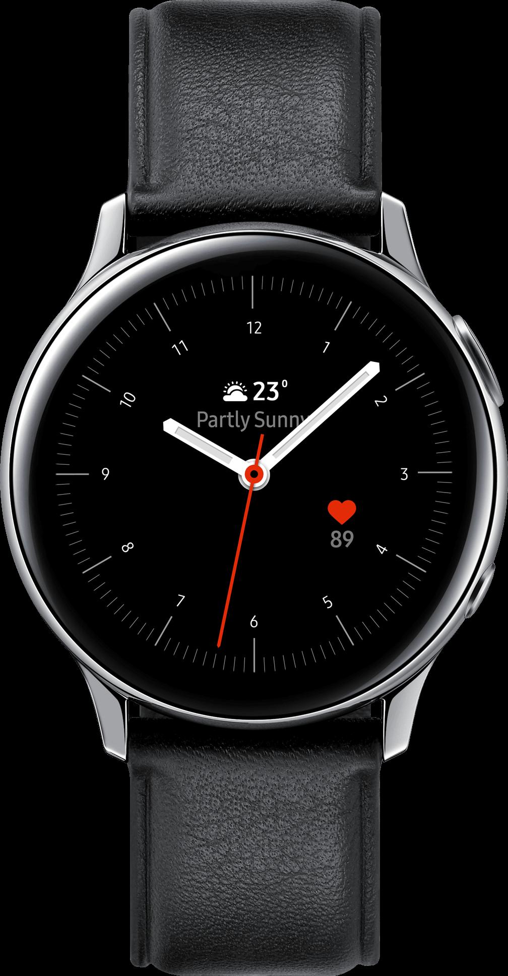 Montre connectée Galaxy Watch Active 2 Acier40 mm Samsung Gris Glacier