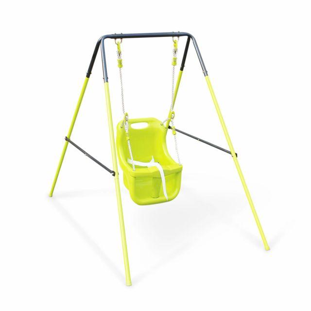 alice 39 s garden portique balan oire pour b b farou 118cm de hauteur pas cher achat. Black Bedroom Furniture Sets. Home Design Ideas