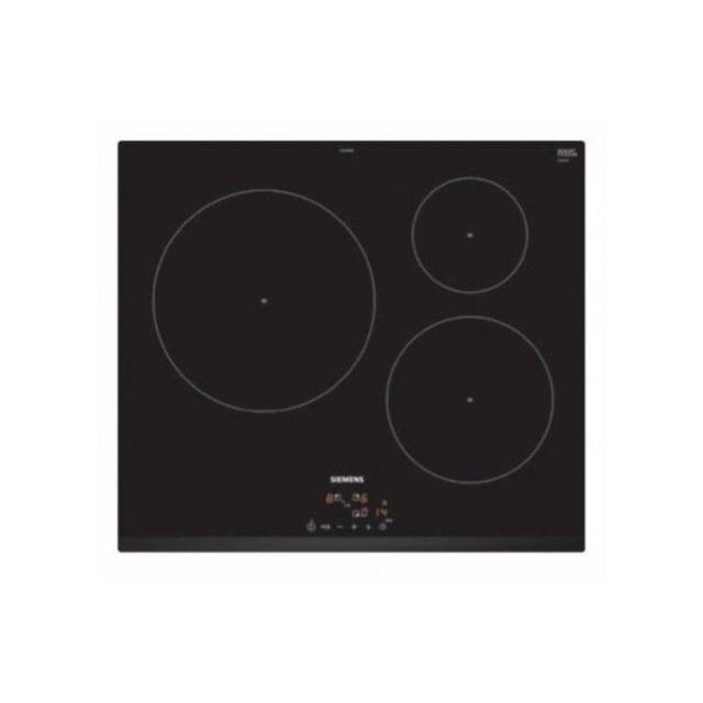 Siemens Plaque à Induction Ag Eu631BJB2E 60 cm Noir 3 zones de cuisson