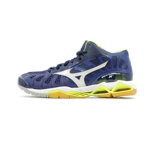 Mizuno Chaussures Indoor Wave Tornado X Mid pas cher
