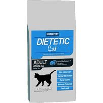 Nutrivet - Dietetic Cat Croquettes chat adulte, regular 15 kg 0% blé