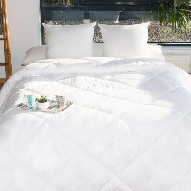 bleu calin couette alaska 240x260 pas cher achat vente couettes rueducommerce. Black Bedroom Furniture Sets. Home Design Ideas