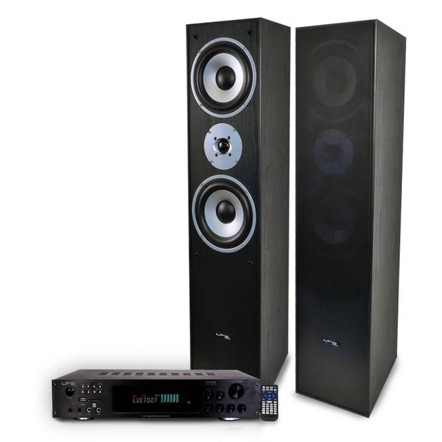 Ltc Pack Hifi / Home-Cinéma L766-BK + amplificateur 2 x 50W Atm6000BT