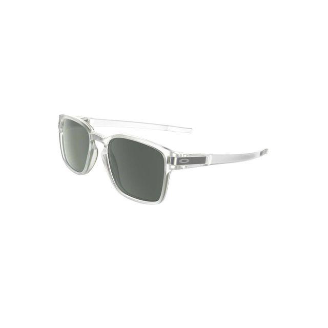 08e76ce20de21d Oakley - Lunettes de soleil Latch Squared Matte Clear Dark Grey - pas cher  Achat   Vente Lunettes Tendance - RueDuCommerce