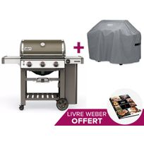 Weber - Barbecue Genesis II E-310 GBS Smoke Grey + Housse