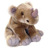 Keel Toys - Peluche Rhinocéros Assis 20 cm