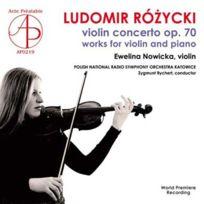 Acte Prealable - Ludomir Rozycki - Concerto pour violon opus 70