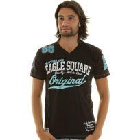 Eagle Square - T-shirt Kamini Noir