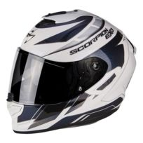 SCORPION - Exo 1400 Air Cup Pearl White Chameleon Blue