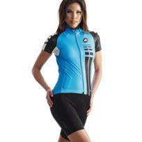 Assos - Maillot Ss Lady Bleu Maillot vélo femme