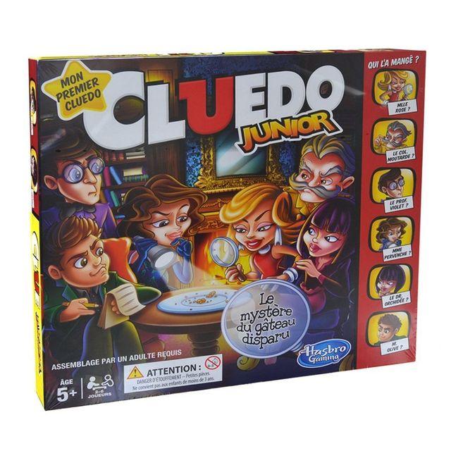 HASBRO CLUEDO JUNIOR - C12931010