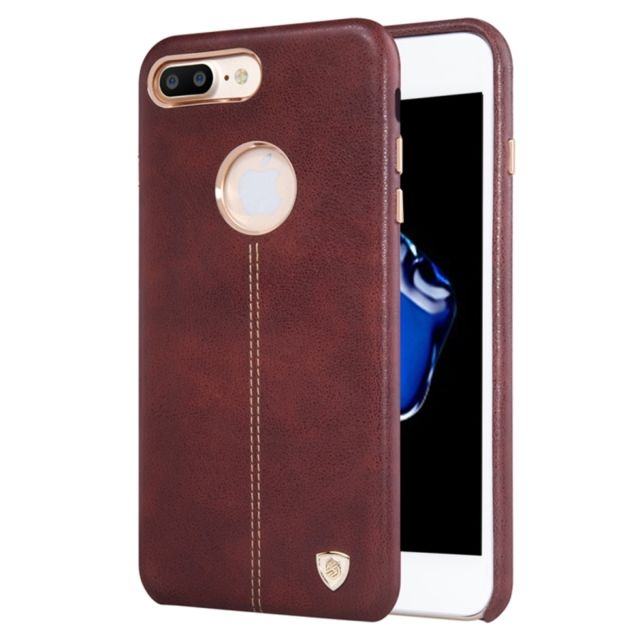 coque iphone 8 cuir marron