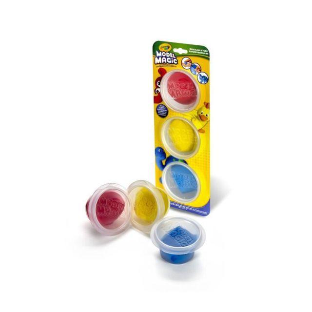 Crayola 3 Pots De Model Magic - Couleurs Primaires
