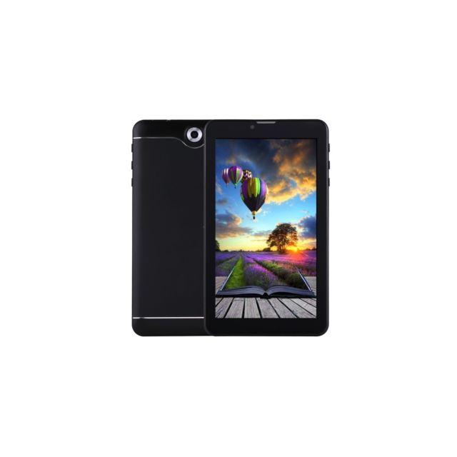 Auto-hightech Tablette Pc 7.0 pouces, 512 Mo + 8 Go, appel téléphonique 3G , Android 6.0, Quad Core Sc7731, Otg, double Sim, Gps, Wifi