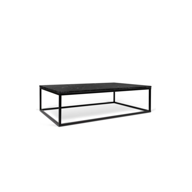 Camif   Table Basse Rectangulaire Tomar Noir