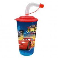 Cars - Verre à paille pour Enfant