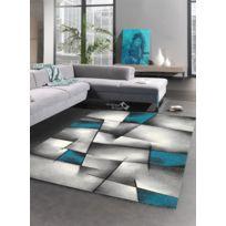 UN AMOUR DE TAPIS - Tapis BRILLANCE ULTIMATE Tapis Moderne par Unamourdetapis bleu 60 x 110 cm