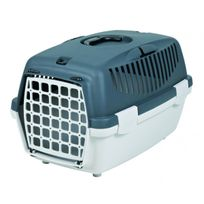 Friends On Tour - Cage de transport Capri gris pour chiens et chats Taille 1 Longueur 48 cm Largeur 32 cm Hauteur 31 cm