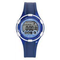 Tekday - Montre 653955 - Montre Quartz Bleue Femme