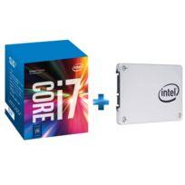 INTEL - Processeur Core i7-7700K 4.20GHz LGA1151 - KABYLAKE + 540s Series 120 Go 2.5 SATA III