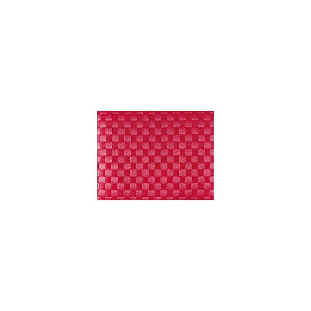 Saleen Set De Table Tissé 40x30 Cm - Rouge Rubis