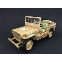 Triple 9 - Jeep Willys Us Army Casablanca - 1943 - 1/18 - T9-1800140