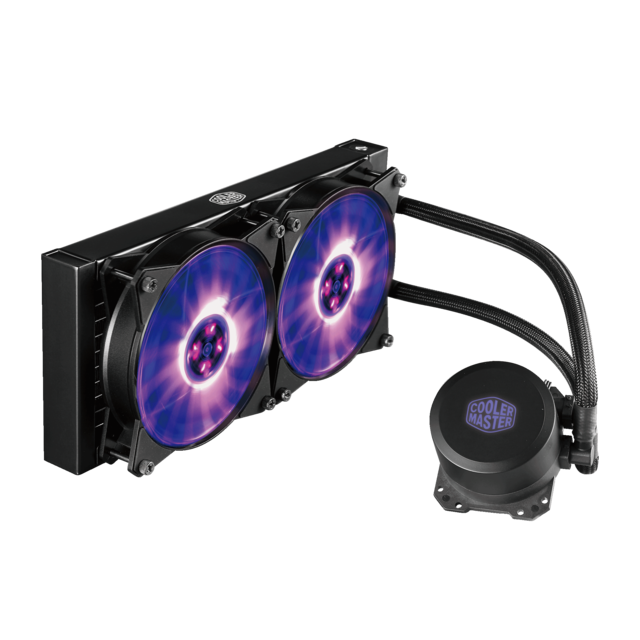 COOLER MASTER Kit de Watercooling 240L - éclairage RGB