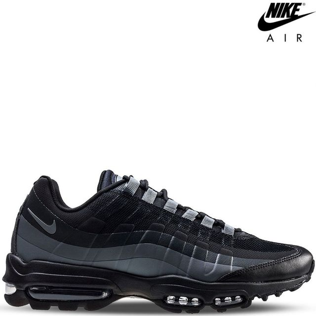 c352acc477675d Nike - Air Max 95 Ultra Essential- 857910-001 gris   noir   anthracite    black-max 95