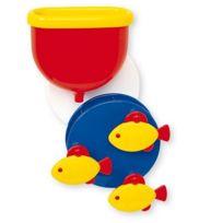 Ambi Toys - Jouet pour le bain Roue de bain et poissons frétilleurs