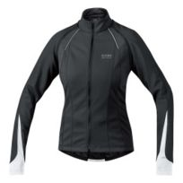 Gore - Veste Bike Wear Phantom 2.0 Windstopper Soft Shell noir blanc