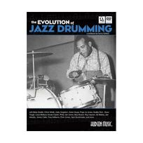 Hudson - The Evolution of Jazz Drumming: A Workbook for Applied Drumset Students