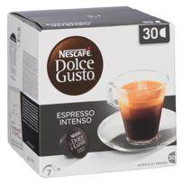 Dolce Gusto - Capsules café Espresso Intenso Nescafé - Boîte de 30