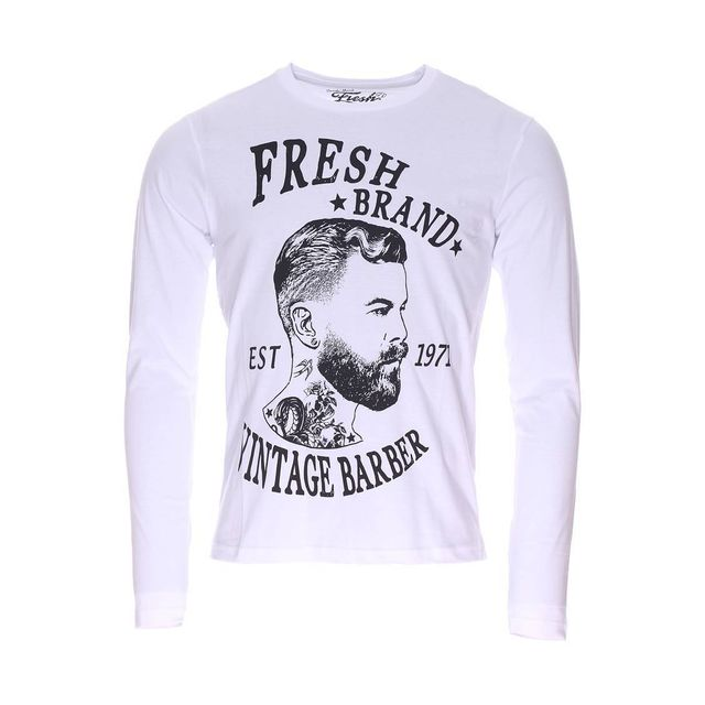 Soldes fresh brand tee shirt manches longues col rond for Fresh brand t shirts