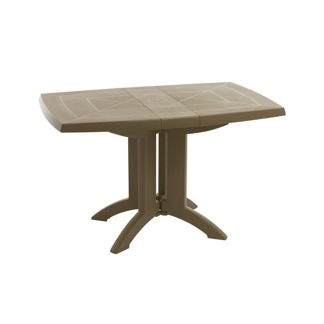 Grosfillex - salon de jardin 2 couverts table vega + chaises ...