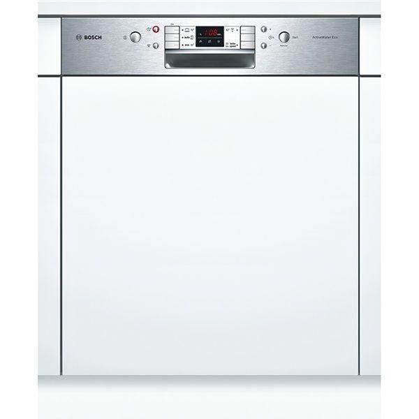 Bosch lave-vaisselle 60cm 13 couverts a++ intégrable avec bandeau apparent inox - smi58p15eu