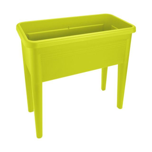 elho potager sur pieds greenbasics lime vert pas cher. Black Bedroom Furniture Sets. Home Design Ideas