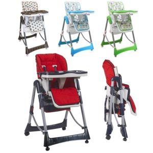 Monsieur bebe chaise haute b b pliable r glable hauteur dossier tablette pas cher achat - Chaise haute bebe pliable ...