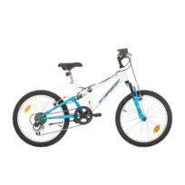 "Bike Sport - Vtt 20'' Tout Suspendu Fille ""Bikesport"" avec Frein V brake - 6 Vitesses - Poignée Tournante"