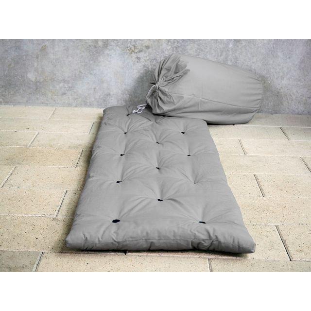 Karup Matelas Futon D Appoint 1 Personne 70x190 Gris Bed In Bag