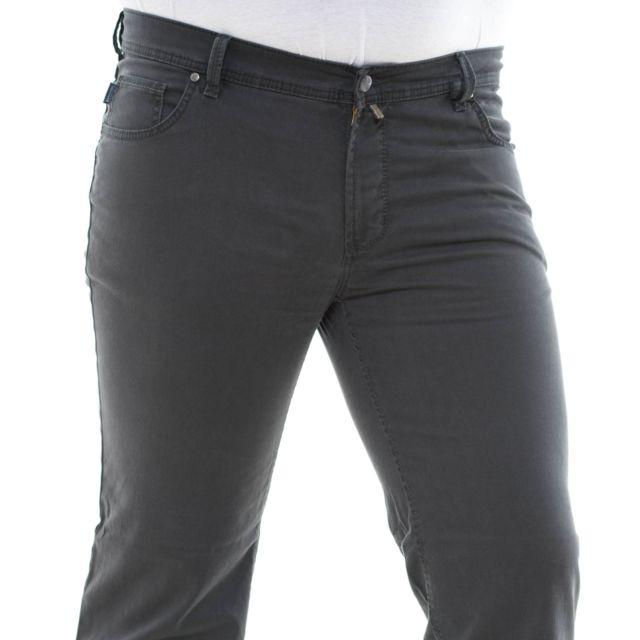 Pionier Pantalon toile peter gris
