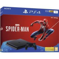 Console PS4 Slim 1To + Marvels Spider-Man