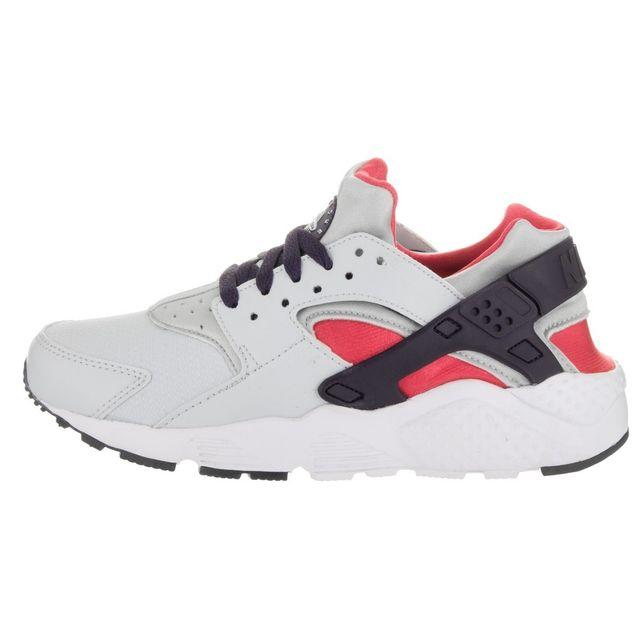newest 0ff60 f053d Nike - Basket Air Huarache Run Gs - 654280-009 - pas cher Achat   Vente  Baskets enfant - RueDuCommerce