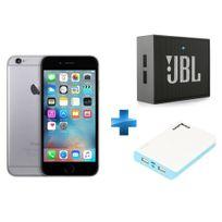 APPLE - iPhone 6 - 16 Go - Gris Sidéral + Enceinte nomade Go + Batterie de secours 15000 mAh