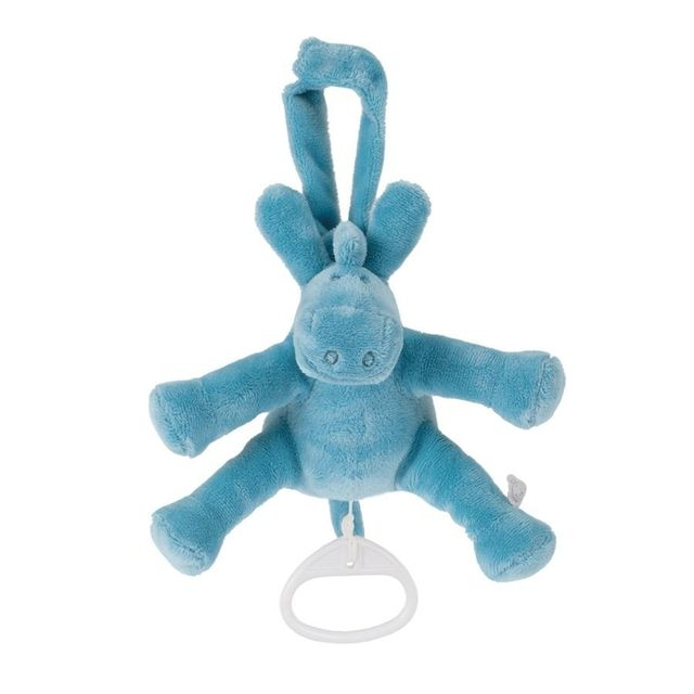 Noukie's - Peluche musicale mini Paco turquoise