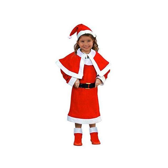 dd2724853643b Sans - Costume de Mere Noel enfant - Deguisement Noël - 3 4 ans ...
