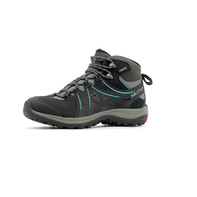 Salomon Chaussure de randonnée Ellipse 2 Mid Lather Gtx W