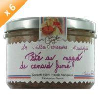 Lucien Georgelin - Pâté au Magret de Canard Fumé 6x220g