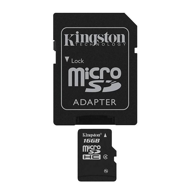 Kingston - MicroSDHC 16Gb