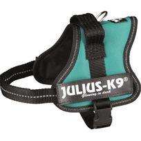 Julius K9 - Harnais Power Julius-K9 - Mini-Mini - S : 40-53 cm-22 mm - Vert - Pour chien