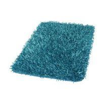 Kleine Wolke - Tapis de bain Riva 60 x 100 cm Turquoise